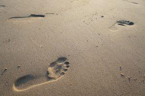 Schritte im Sand Entwicklung Heilung Balance-im-Sein Valeska Otto