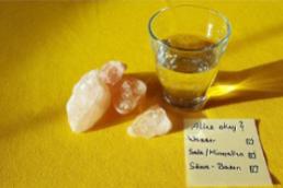 Wasser, Salz, Säure-Basen